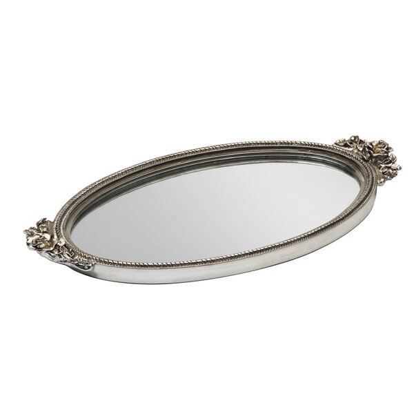 Mirror Serving Tray by Three Posts