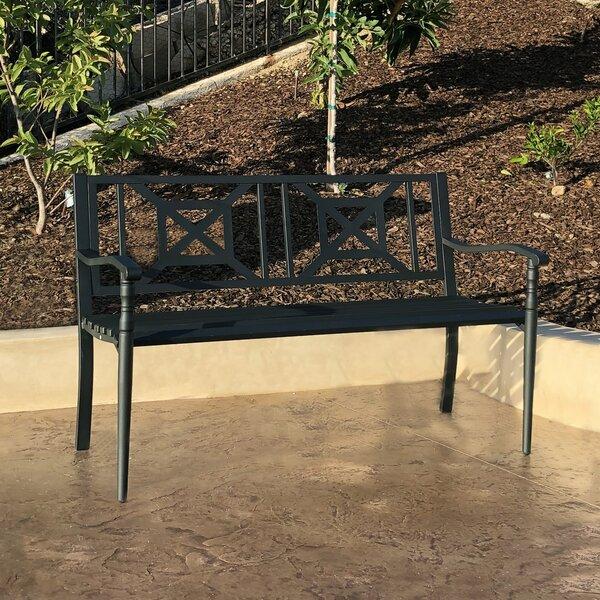 Jonnie Metal Garden Bench by Red Barrel Studio Red Barrel Studio