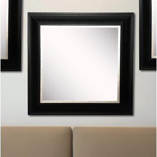 Compare & Buy Kimzey Grand Black and Aged Silver Wall Mirror (Set of 3) By Charlton Home