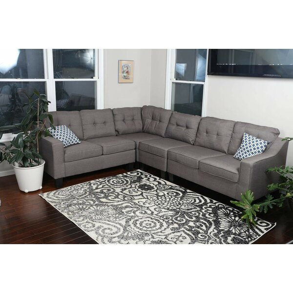 Althoff Upholstered Modular Sectional by Red Barrel Studio