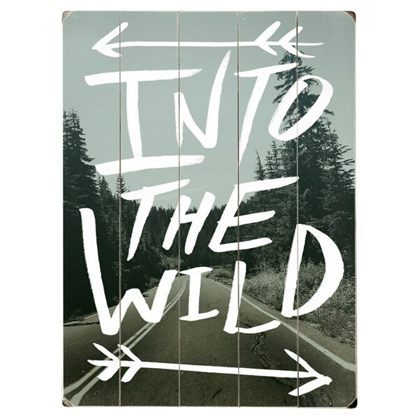 Into the Wild Photographic Print Multi-Piece Image on Wood by Artehouse LLC
