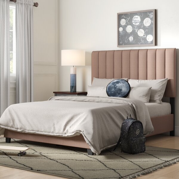 Morgan Queen Upholstered Standard Bed by Modern Rustic Interiors