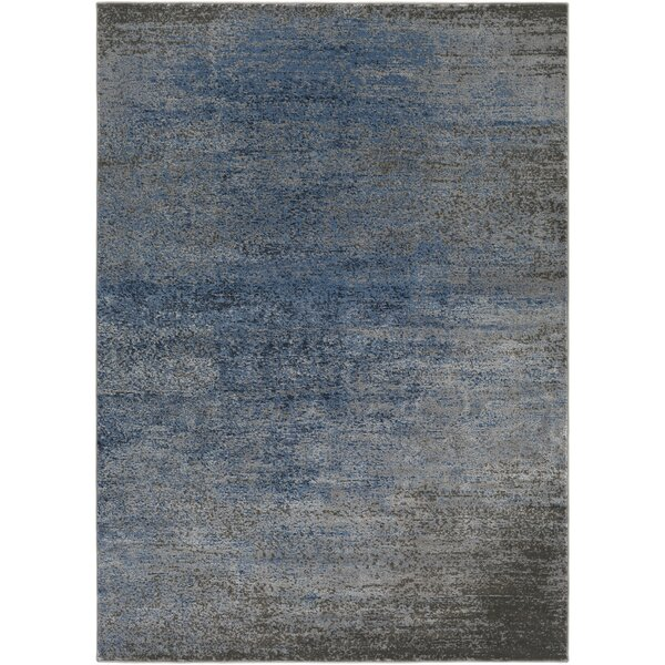 Hatboro Blue/Gray Area Rug by Gracie Oaks