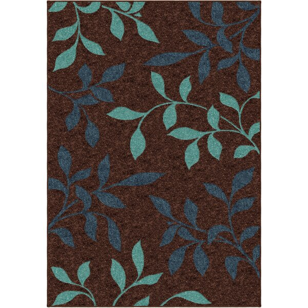 Serena Brown Indoor/Outdoor Area Rug by Threadbind