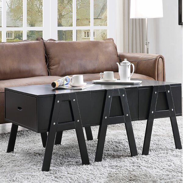 Nemorin Coffee Table with Storage by Latitude Run Latitude Run