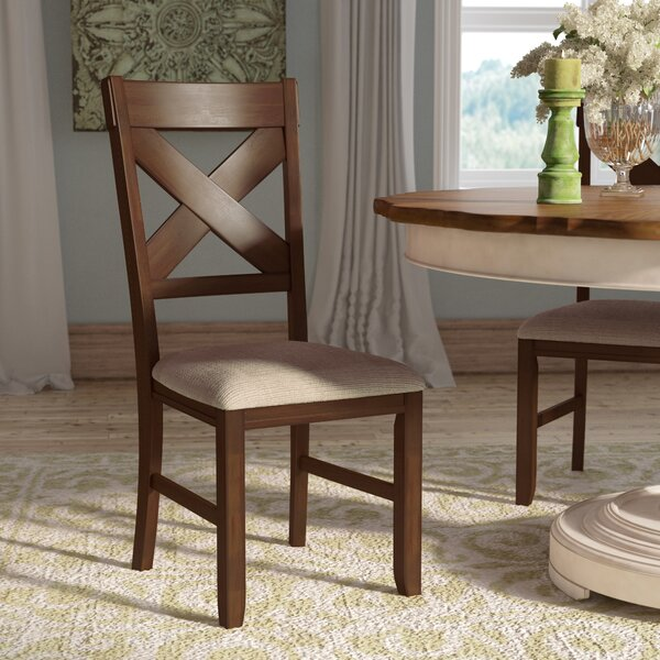 Isabell Upholstered Dining Chair (Set of 2) by Laurel Foundry Modern Farmhouse