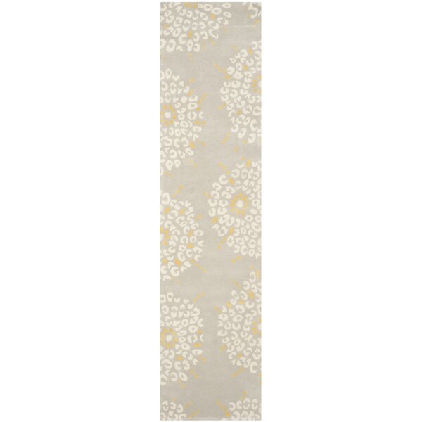 Andersen Hand Tufted Wool Gray/Ivory Area Rug by Latitude Run