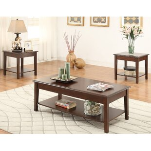 Hillwood 3 Piece Coffee Table Set A&J Homes Studio