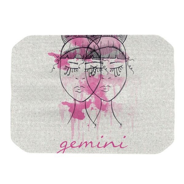 Gemini Placemat by KESS InHouse