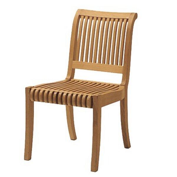 Giva Folding Teak Patio Dining Chair by Teak Smith