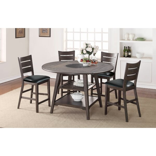 Caruso Drop Leaf Dining Table by Gracie Oaks