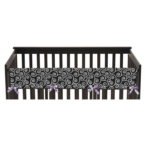 Kaylee Long Crib Rail Guard Cover by Sweet Jojo Designs