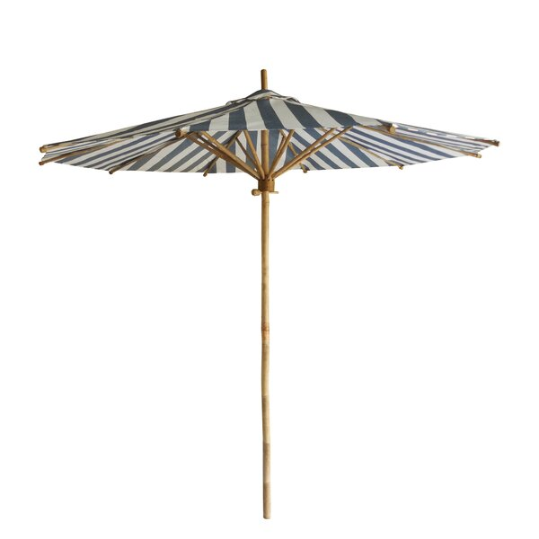 Kinslee Bamboo Beach Umbrella by Longshore Tides