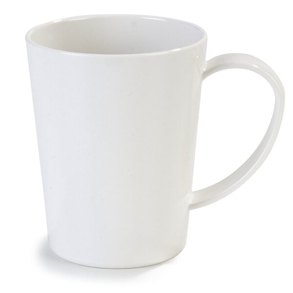 Alysia 12 Oz. Stackable Tritan Coffee Mug (Set of 12) by Ebern Designs