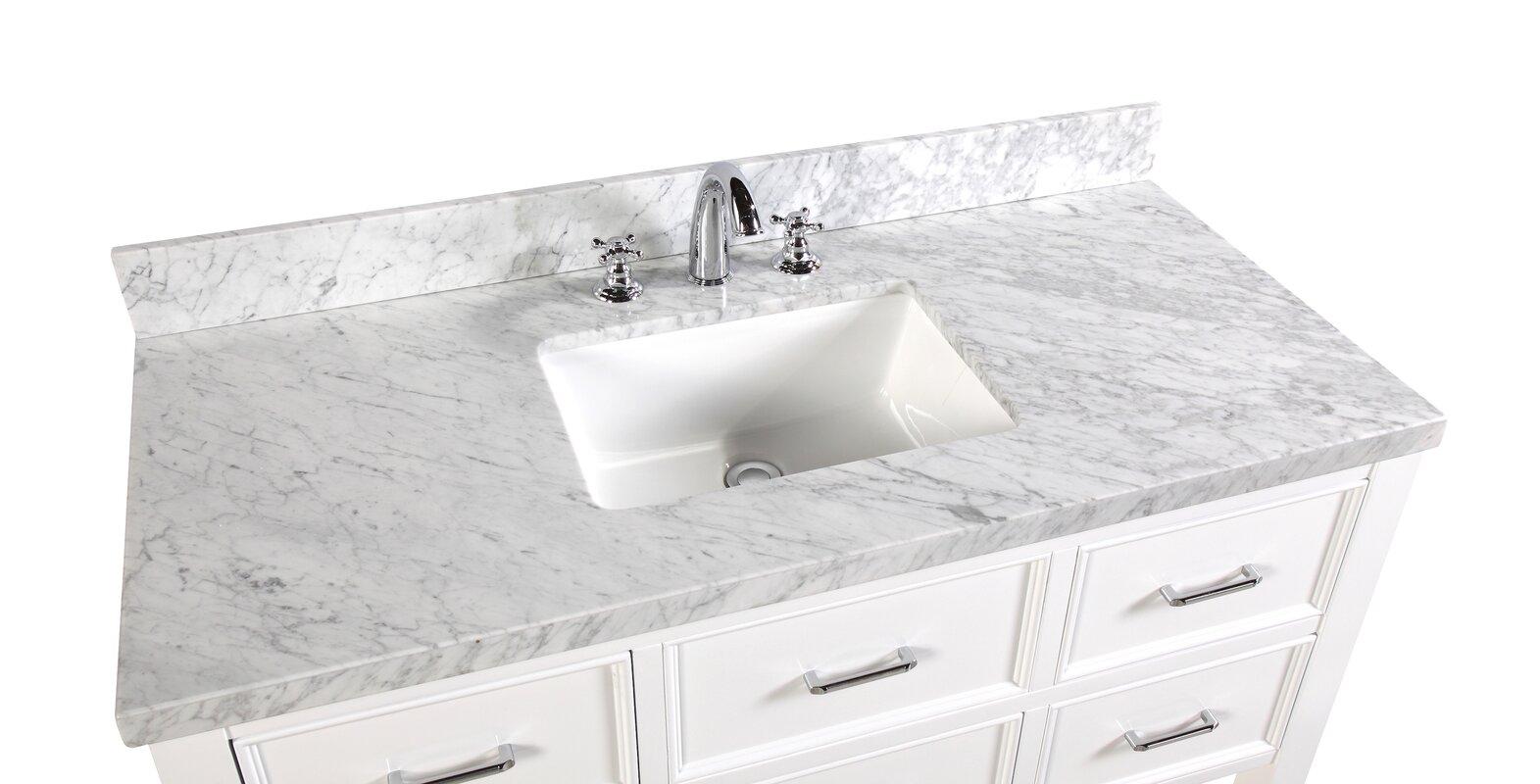 Kbc New Hampshire 48 Quot Single Bathroom Vanity Set Amp Reviews