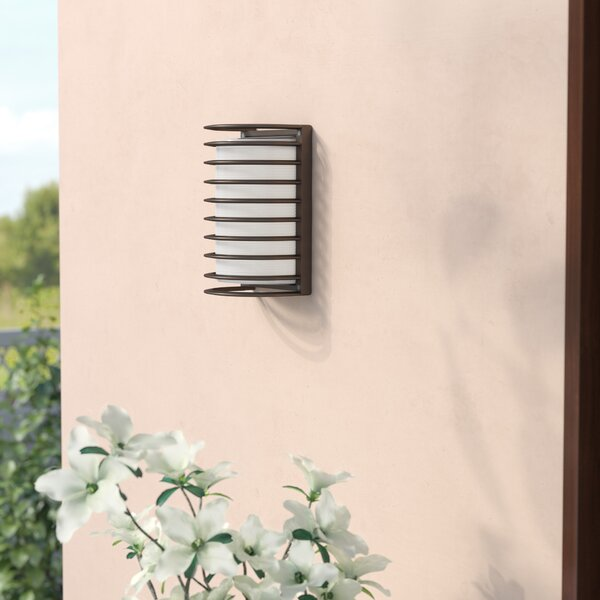Buradale 1-Light Outdoor Flush mount by Latitude R
