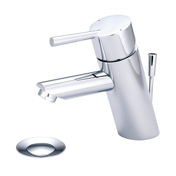 Deck Mounted Standard Bathroom Faucet with Drain Assembly by Olympia Faucets
