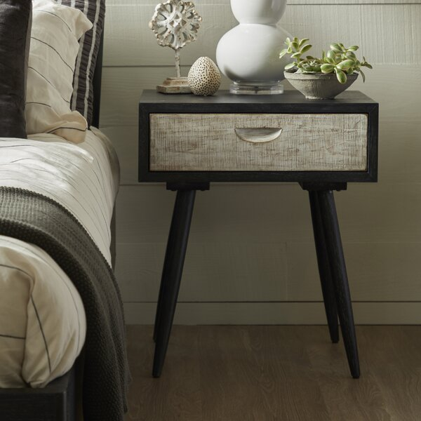 Hehir 1 Drawer Nightstand by Gracie Oaks