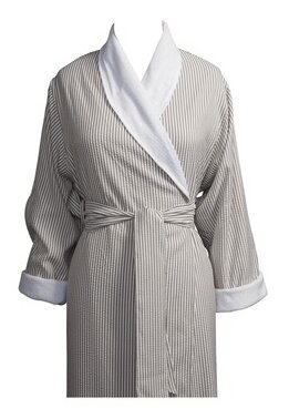 Telegraph Hill Luxury Double Layer Soft Spa Bathrobe by Jerdon