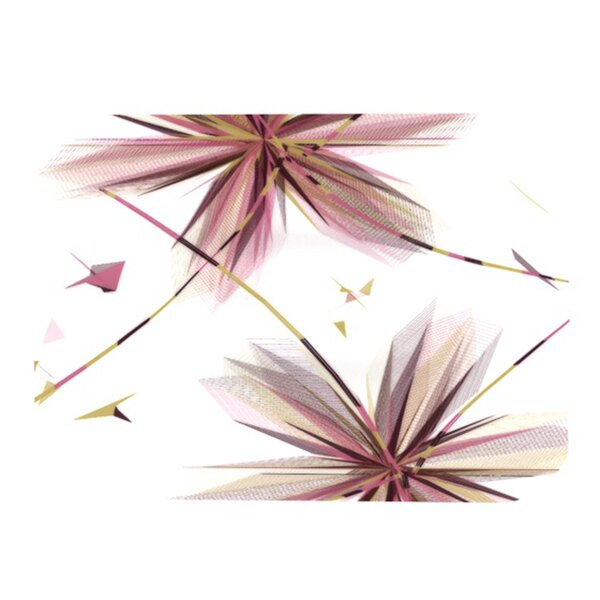 Flower Placemat by KESS InHouse