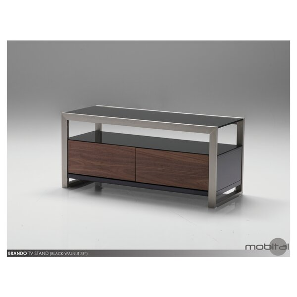 Brando Solid Wood TV Stand For TVs Up To 50