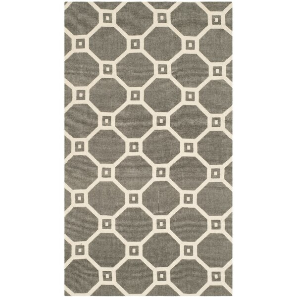 Thom Filicia Hand-Loomed Gray/Ivory Area Rug by Safavieh