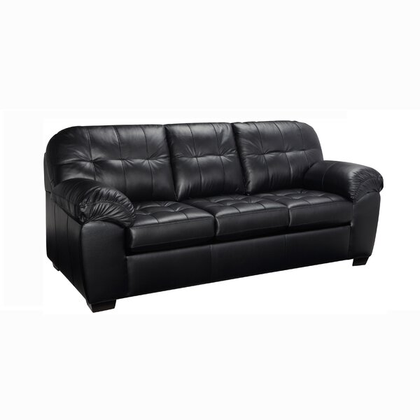 Bargain Bellamy Leather Sofa by Red Barrel Studio by Red Barrel Studio