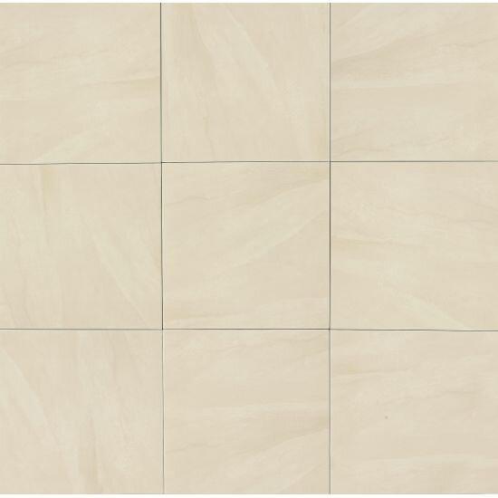 Winslow 18 x 18 Porcelain Field Tile in Matte Beige by Grayson Martin