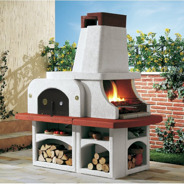 76 Parenzo BBQ Charcoal Grill by LaToscana
