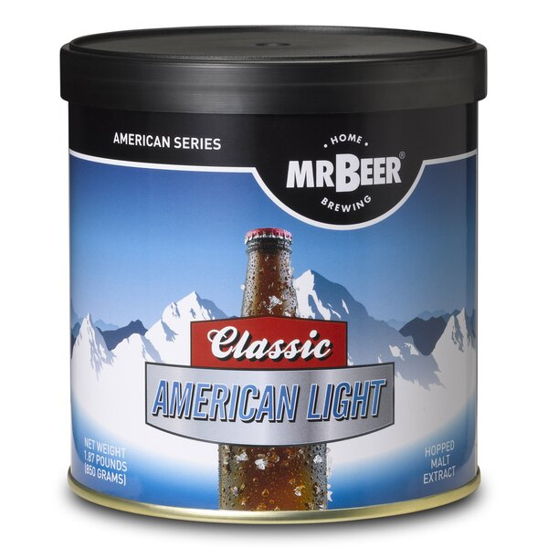 Mr. Beer Classic American Light Beer Making Refill Kit by Mr. Beer