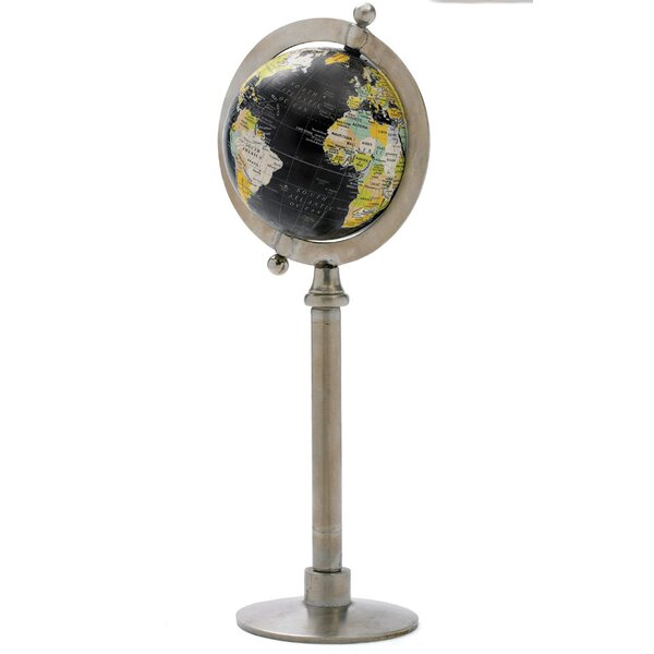 Globe On Straight Stand by Darby Home Co