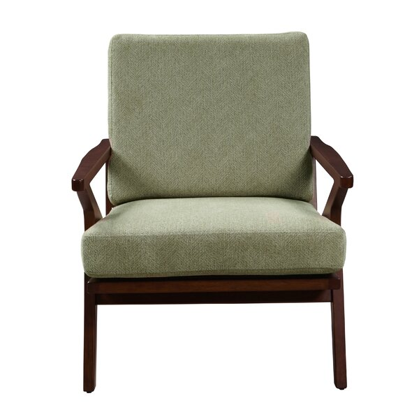 Manglo Mid Century Wood Accent Armchair by Laurel Foundry Modern Farmhouse