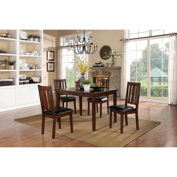 Soderquist Dinette 5 Piece Solid Wood Dining Set by Red Barrel Studio