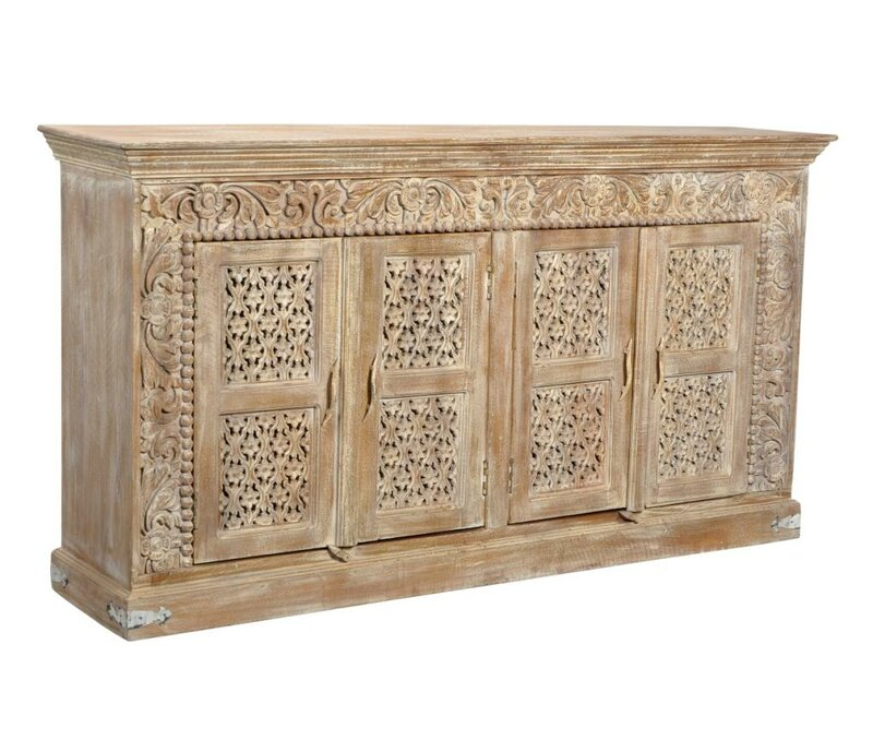 Aveliss Brown Solid wood Sideboard