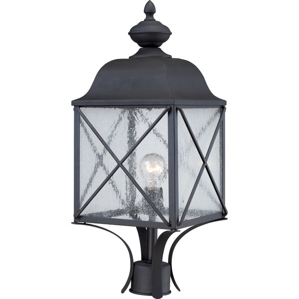 Topeka Outdoor 1-Light Lantern Head by Three Posts