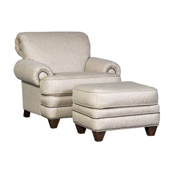 Jan Armchair with Ottoman by Chelsea Home Chelsea Home