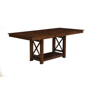 Wayland Counter Height Extendable Dining Table by Loon Peak