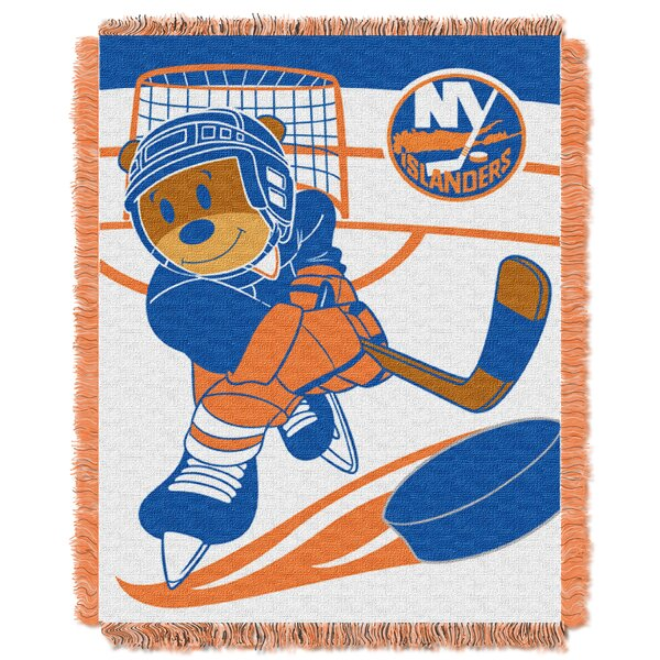 NHL Islanders Baby Woven Throw Blanket by Northwest Co.