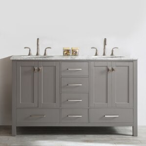 "Newtown 60"" Double Bathroom Vanity"