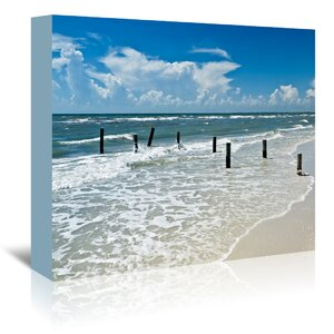 Florida Gulf of Mexico Photographic Print on Wrapped Canvas by Beachcrest Home