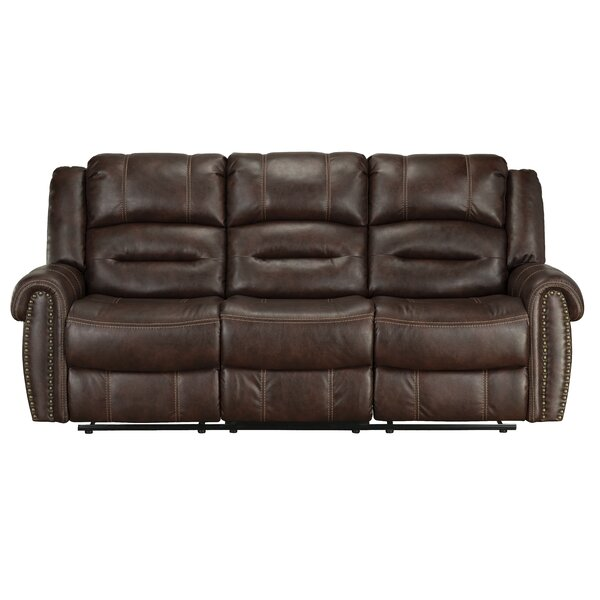 Lohman Manual Motion Reclining Sofa by Winston Porter