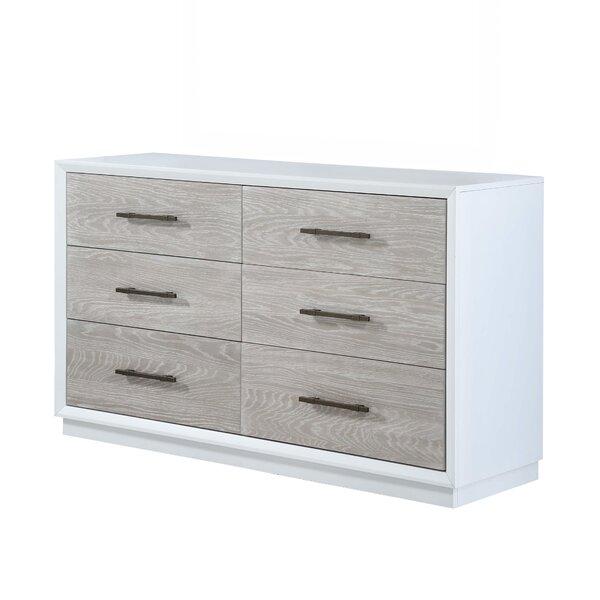 Boca Grande 6 Drawer Double Dresser by Panama Jack Home