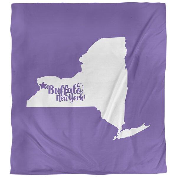 Buffalo New York Duvet Cover