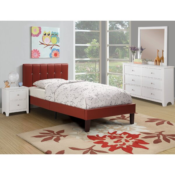 Duque Upholstered Standard Bed by Harriet Bee
