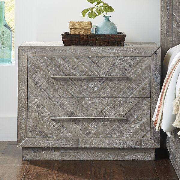 Robards 2 Drawer Nightstand by Union Rustic