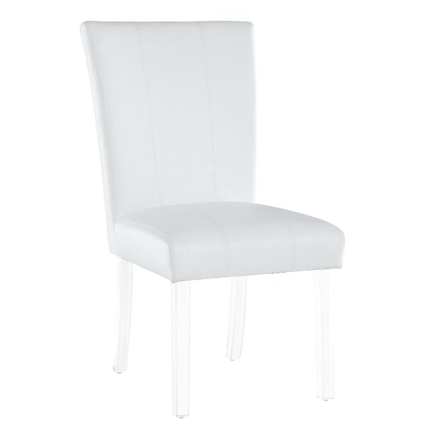 Upholstered Dining Chair (Set of 2) by Ebern Designs Ebern Designs