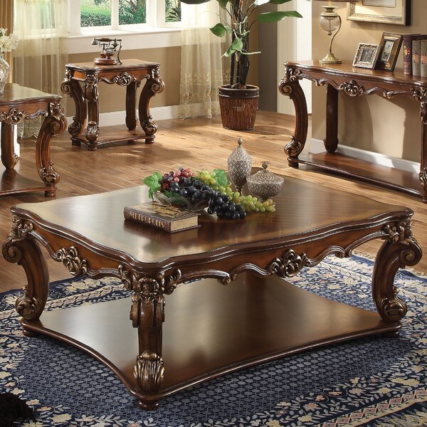 Welles Traditional Coffee Table by Astoria Grand