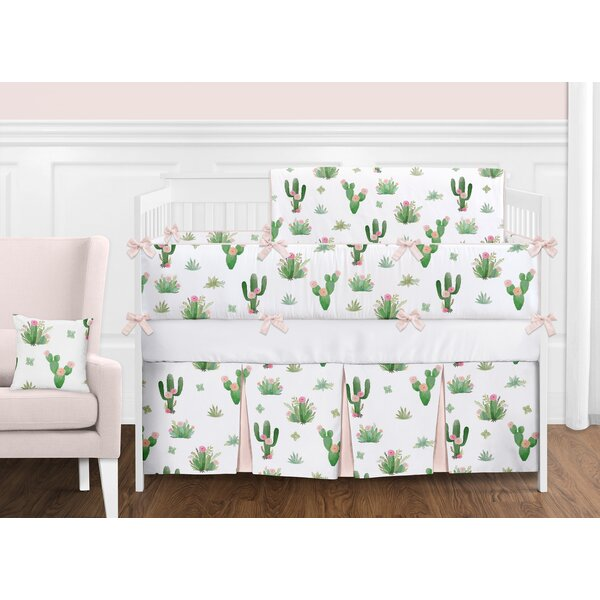 Cactus Floral 9 Piece Crib Bedding Set by Sweet Jojo Designs