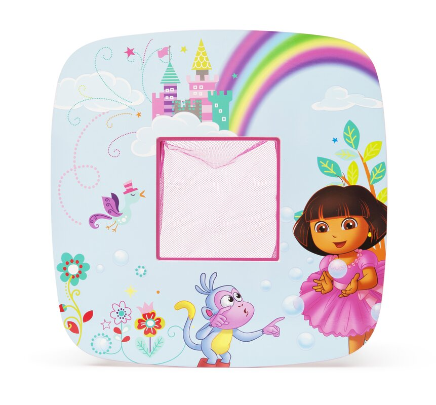 Nickelodeon S Dora The Explorer Kids 3 Piece Square Table And Chair Set