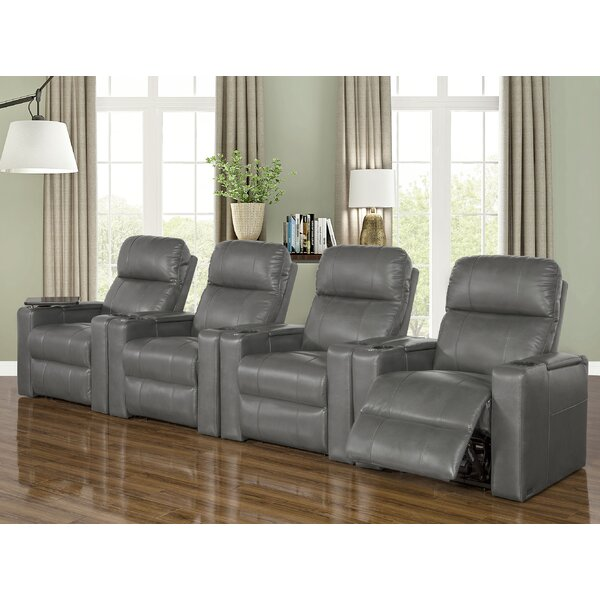 Power Home Theater Row Seating (Row Of 4) (Set Of 4) By Ebern Designs